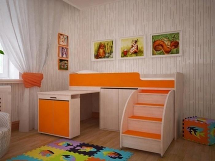 Кровать-чердак