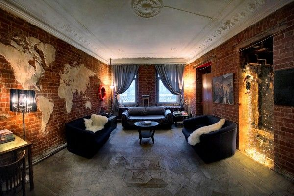Квартира в стиле лофт + фото