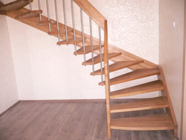Лестницы на больцах своими руками