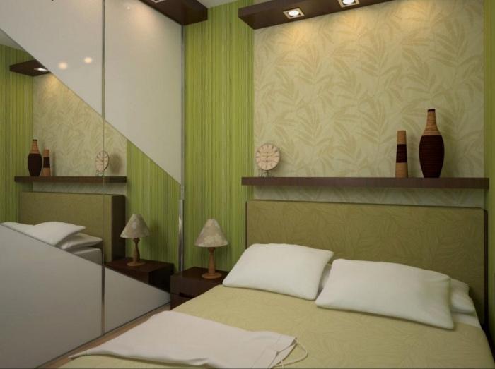 Маленькие спальни дизайн интерьера+фото