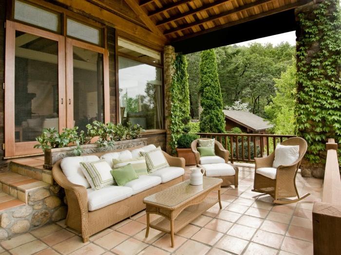 Мебель для летней веранды + фото
