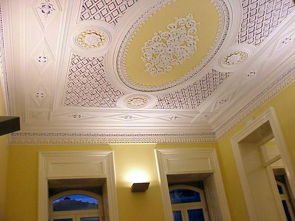 Дизайн многоуровневых потолков + фото