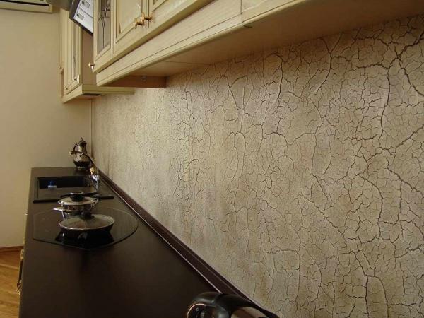 Мозаичная краска для стен: тримколор, мультиколор