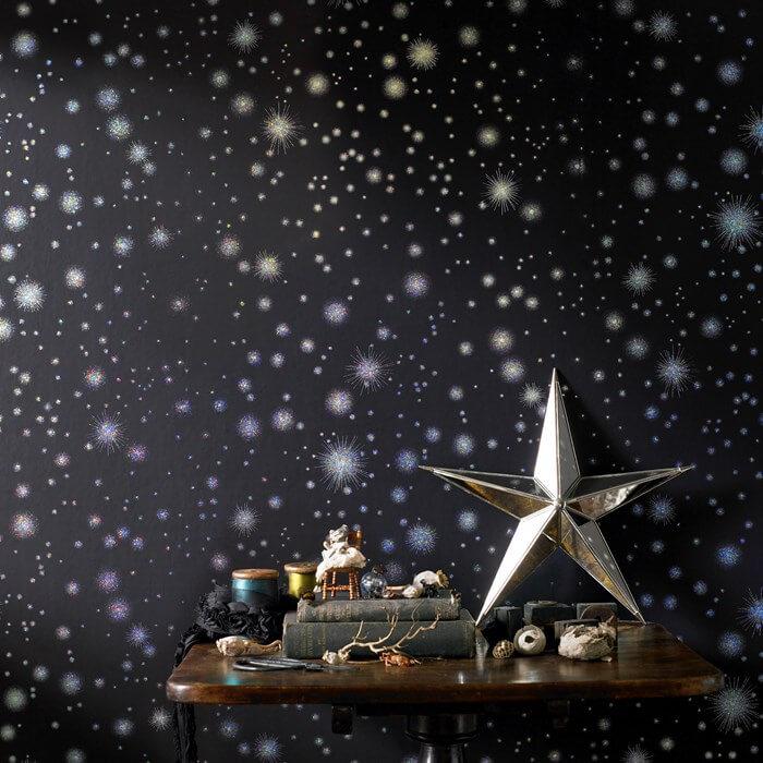 Обои со звездами в детскую + фото