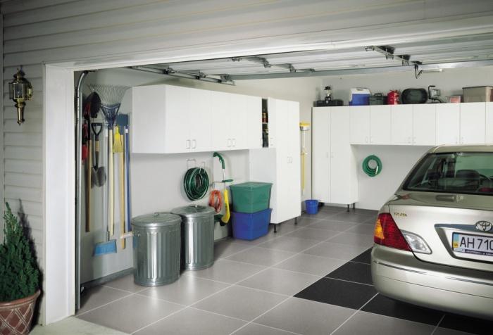 Обшивка гаража внутри и снаружи