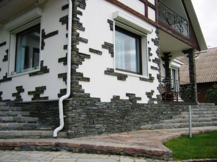 Отделка наружных стен дома