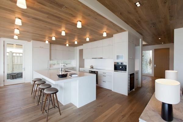 Современные идеи дизайна кухни-столовой + фото
