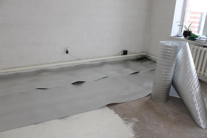 Подложка под теплый пол водяной