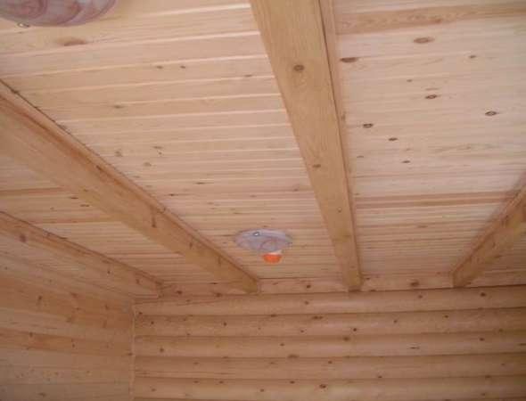Подшивной потолок из гипсокартона и дерева своими руками