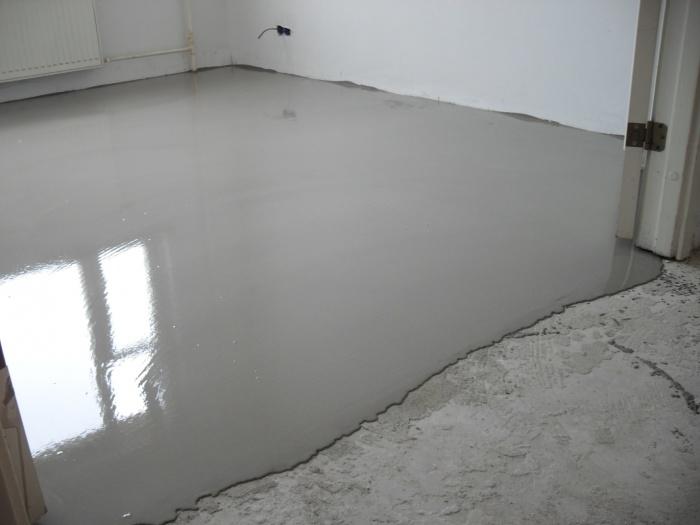 Наливной пол полимерный
