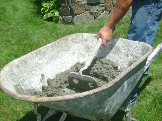Пропорции приготовления бетона вручную, таблица
