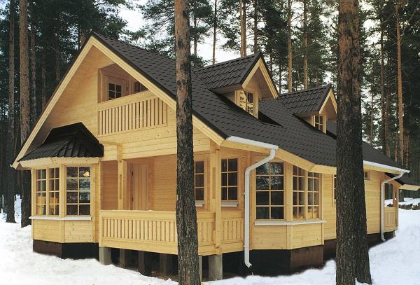 Проекты домов мансардой из бруса