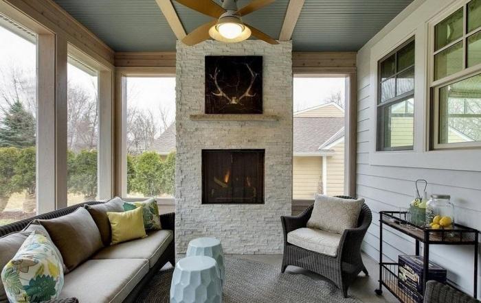 Проекты домов с верандой и террасой + фото