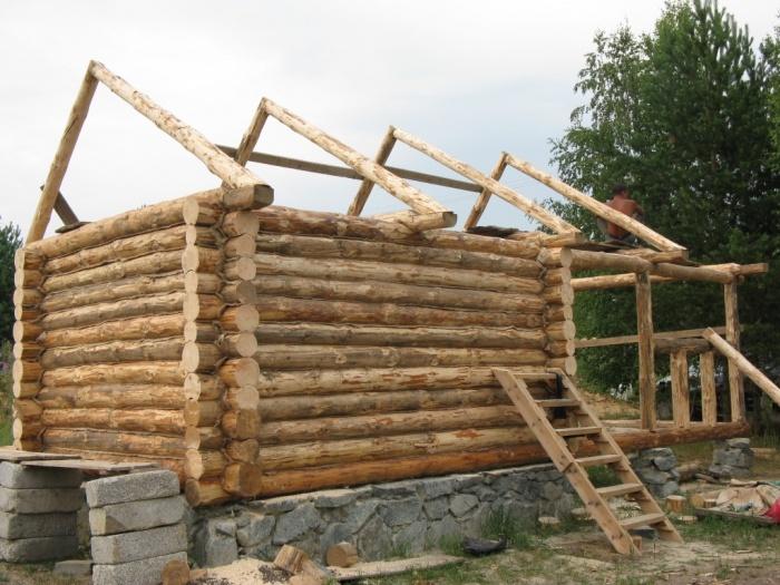 Как строить русскую баню
