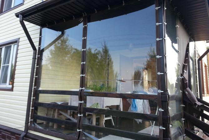 Шторы для веранды и террасы + фото