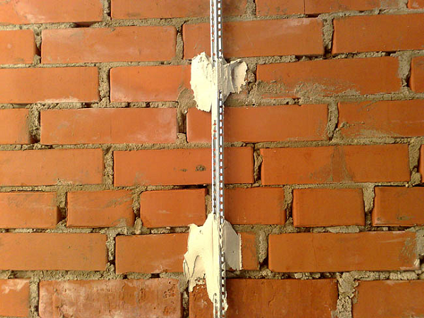 Штукатурка стен под обои