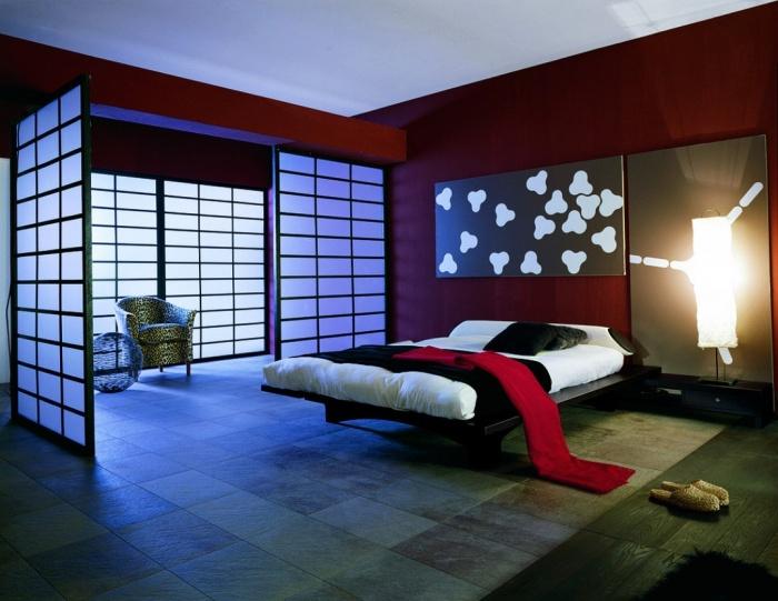 Спальня в китайском стиле + фото