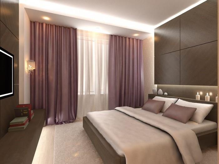 Спальня в современном стиле + фото