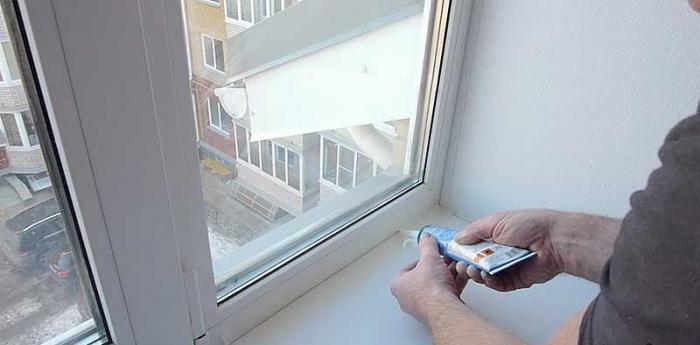 Герметик для пластиковых окон
