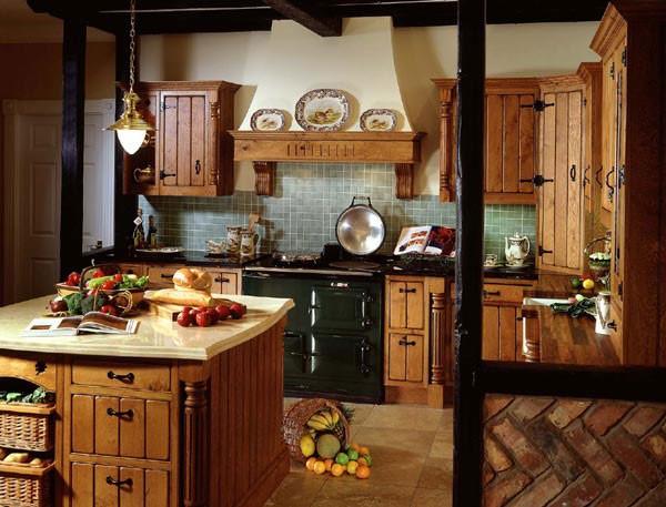 Кухня в стиле кантри своими руками + фото