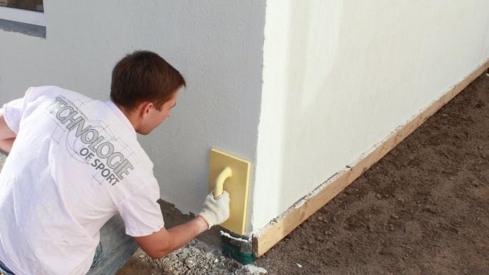 Штукатурка стен + видео