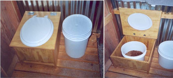 Унитаз для дачного туалета