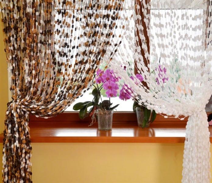 Веревочные шторы фото