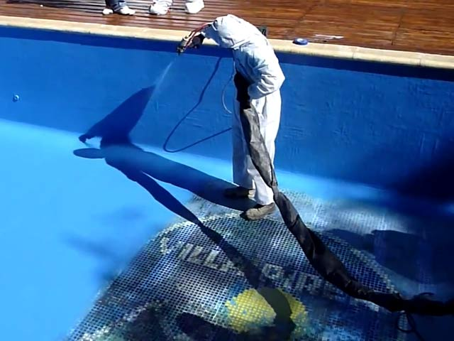 Обмазочная гидроизоляция для бассейна