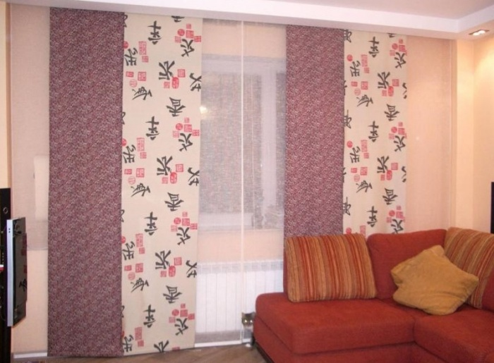 Японские шторы
