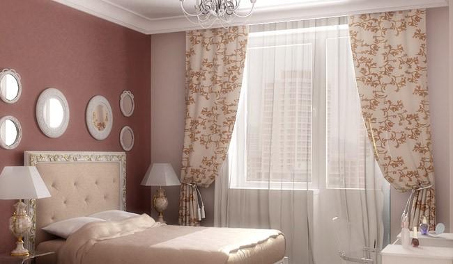 Занавески в спальню: современные идеи